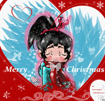 Vanellope Christmas by sonamy94fan