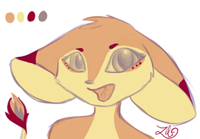 New Mouse Character: Scarlet by myheartyoung
