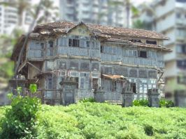 OLD HOUSE 1121 by sharan
