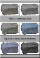 Rock PNGs Zip File by TheStockWarehouse