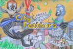 Jhamar L. B.'s  CITY FEATHERS by SammfeatBlueheart