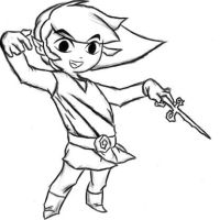 wind waker link by sevenillusions
