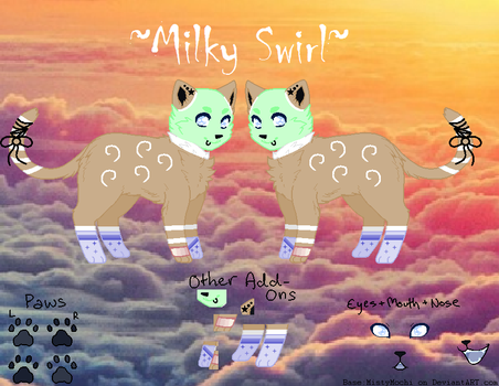 Milky Swirl OC Ref by TheMysteriousSong