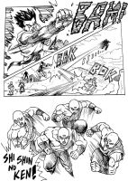 Dragonball Z Gaiden page 57 by MatiasSoto