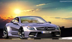 Mercedes-Benz SL65 AMG by CipSkate
