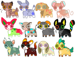 Point adoptables! ::OPEN:: by Michibu