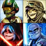 The Force 4 Up - Gorillaz by EddieHolly