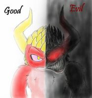 Good...and Evil by Mickeymonster