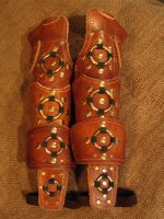 Articulated ring bracers by Flacusetarhadel