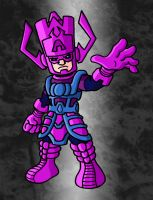 Mini Marvels- Galactus by ZappaZee