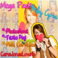 Mega Pack Miley cyrus by CamiiLovatoJonas