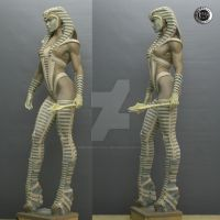Creacion  propia - Cobra -4 by rieraescultura-art