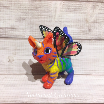 Rainbow kittycorn by NocturnalCreations-x