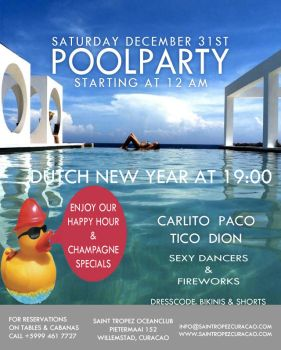 Saint Tropez Pool Party 1 by AbstractMentality