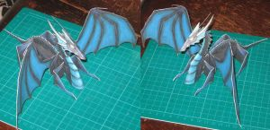 Dragon Papercraft by paperart