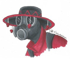 Pyro Portrait by Fischotterchen