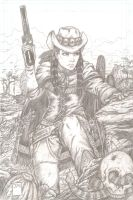 Crow Jane pencils by yosarian13