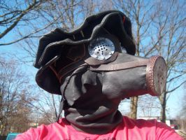 Gas mask by Markehed
