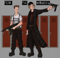Fear The Nobodies by Heir0fSlytherin