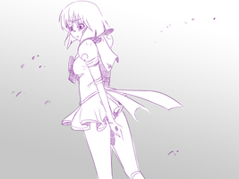 sailor saturn by moonpopsicle