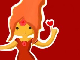 Flame Princess by kawaiigirl300