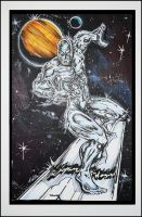 Silver Surfer 2011 by IanDWalker