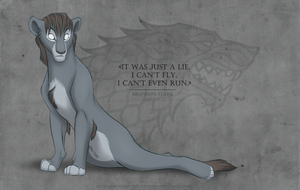 Bran Stark -Song of Ice and Fire- by Mganga-The-Lion
