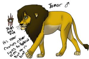 Jamar contest oc creation by Kaiserinthedragoness
