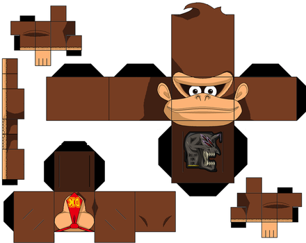 Donkey Kong by hollowkingking
