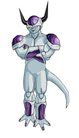 Frieza 2nd form by RobertoVile