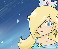 Princess Rosalina by BladeXD