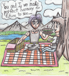 An Afternoon Picnic (Swamnanthas' Contest) by TempestVortex
