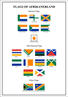 Flags of Afrikanerland by 19North95