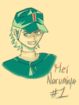 Mei Narumiya ~ Tumblr Color Challenge by Sumi--Chan