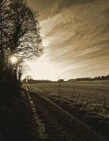 Footpath near Barnack by davepphotographer