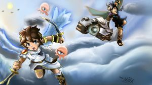 Kid Icarus: Uprising!! by kjshadows131