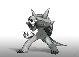 #652 Chesnaught by ShootingStar03