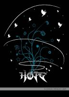 Hope - Black Bkgr by ginger1108