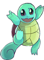 Squirtle by Foltzy