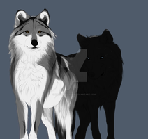 Wolves of the Slough WIP by HavenandGames