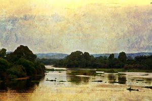 The Vaal river by EMCoetzee