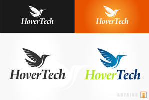 Logo 70 - HoverTech by AryaInk