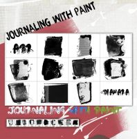 Journaling with Paint by Diamara