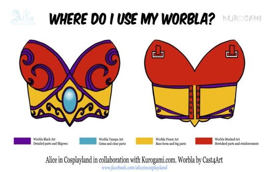 Where do I use my worbla? by Aliceincosplayland