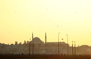 Evening in Istanbul by Suryakami