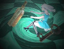 Down The Rabbit Hole by MrsBones