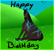 Birthday Present for Sinaas by FishyDoesThings