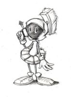 lil' Marvin the Martian by DeAnimeJ