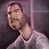 Sylar Caricature by jonesmac2006