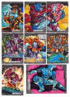 Transformers Card Set  Artist Proofs 2012 by fbwash